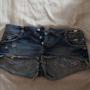 Zara Jean shorts!! 🦋